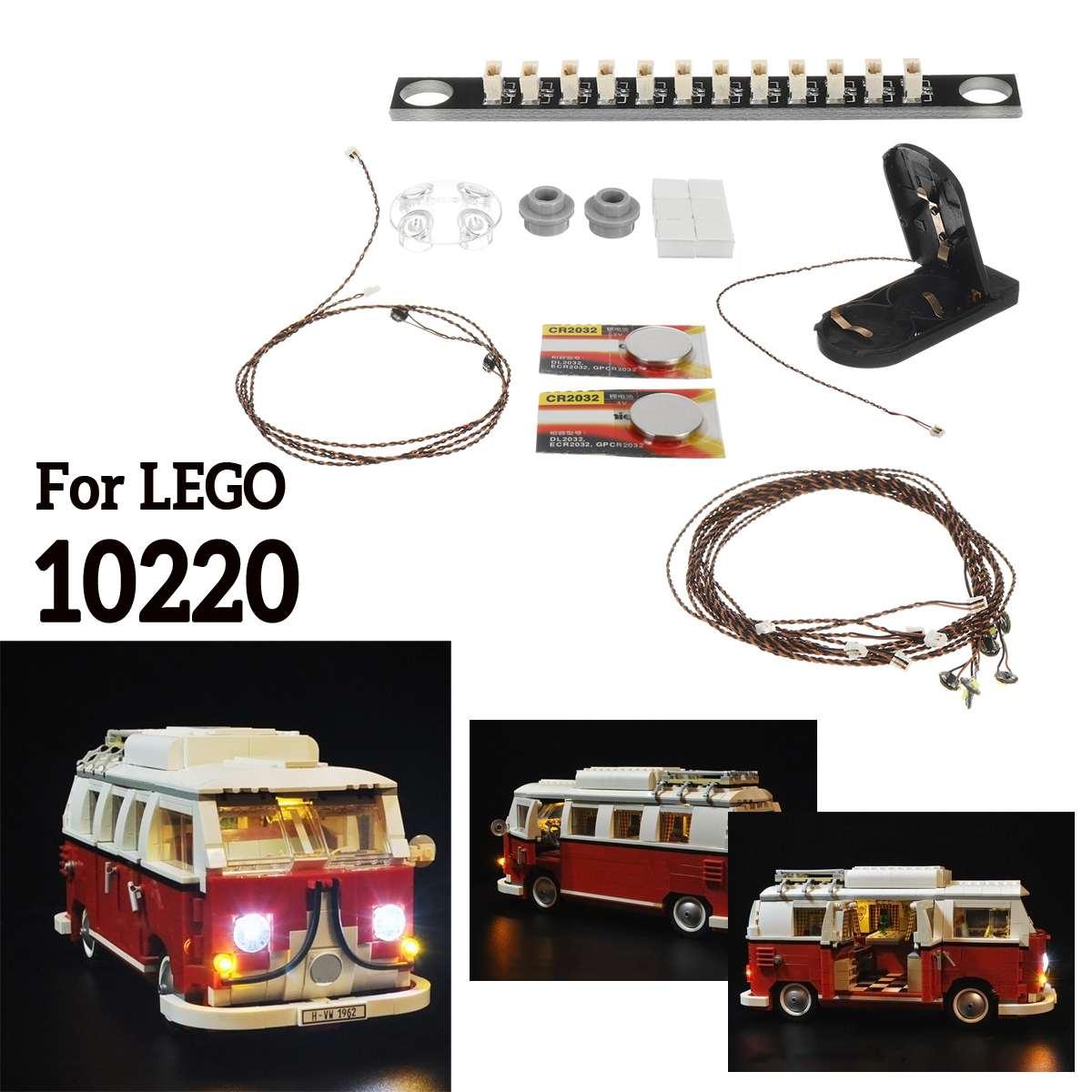 LEGO Creator 10220 Volkswagen T1 Camper Van Led Lighting Kit Top Quality Item
