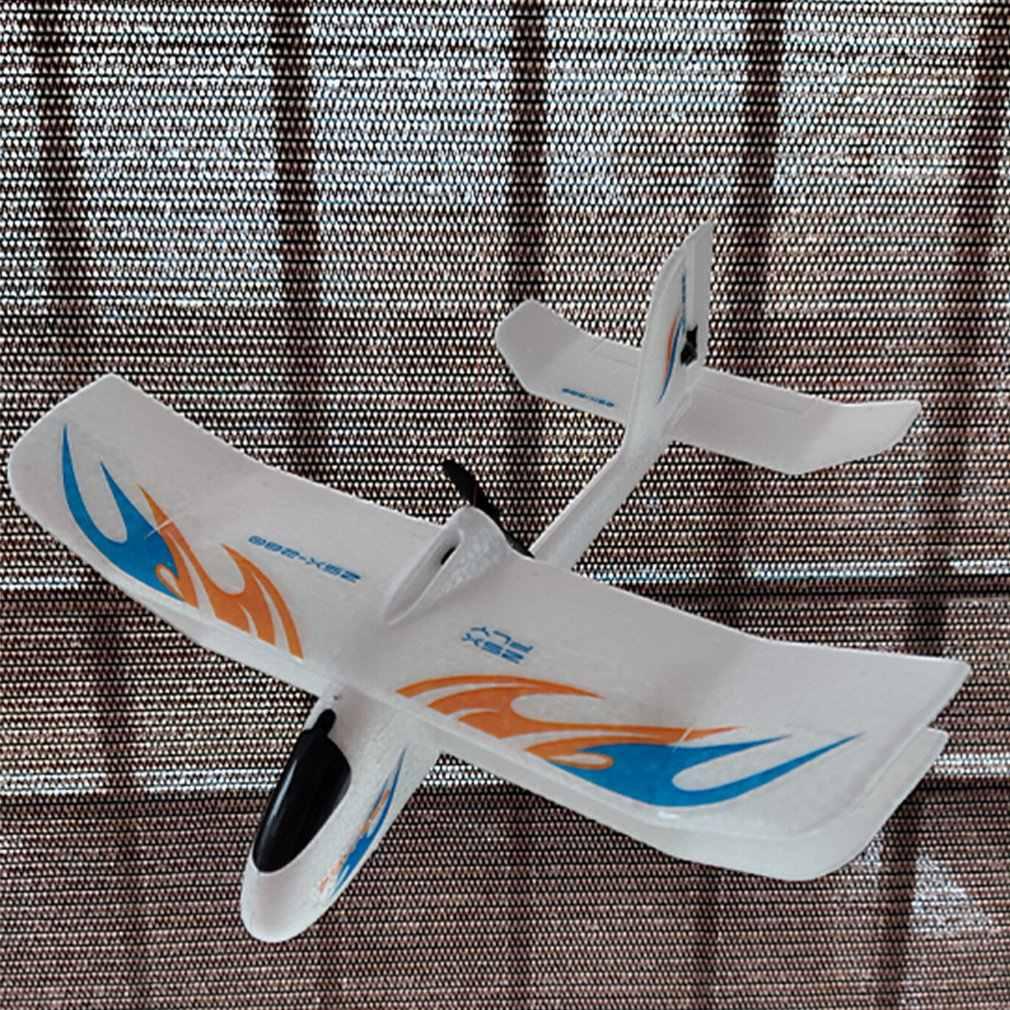 2.4GHz 280mm envergure EPP pleine échelle électromagnétique Servo intérieur biplan planeur RC avion RTF ZSX-280
