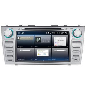 "Image 3 - 8 ""2 DIN Android รถวิทยุสเตอริโอ GPS หน่วย CASSETTE สำหรับ Toyota Camry 2011 2007 มัลติมีเดียไม่มีดีวีดีพวงมาลัย OBD2"