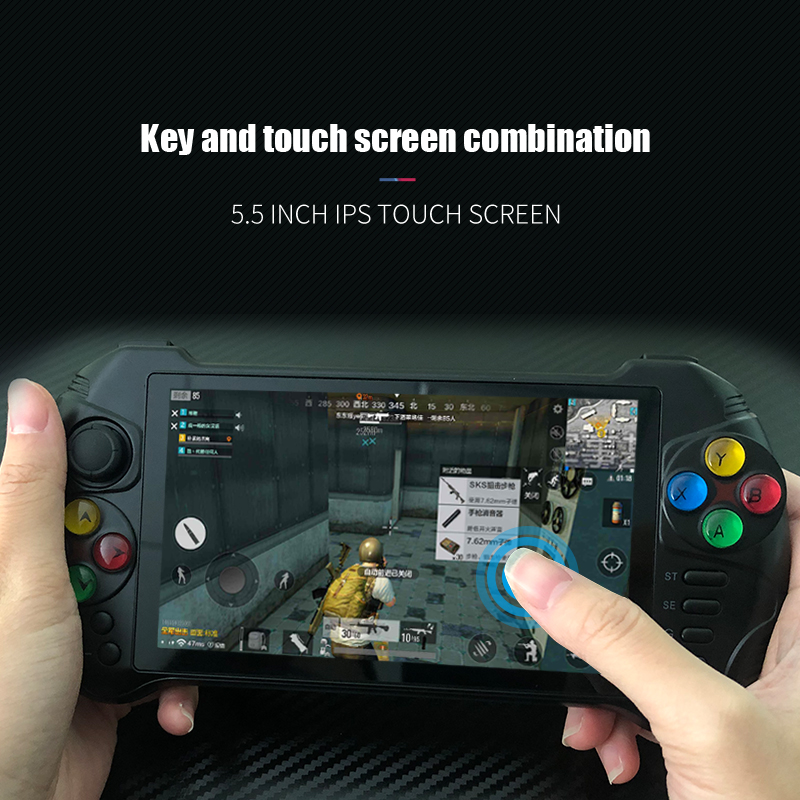 Powkiddy X15 Andriod Handheld Game Console 5.5 INCH 1280*720 Screen MTK8163 quad core 2G RAM 32G ROM Video Handheld Game Player 2