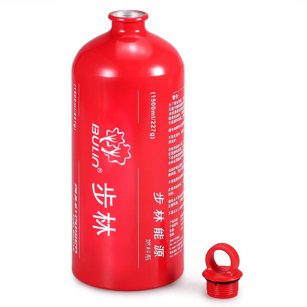 Botella de Combustible Botella de Almacenamiento SUNRIS Botella de Gasolina para Campamento al Aire Libre con Queroseno Alcohol l/íquido