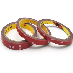 Double-sided Length 3 Meters Width 6~50MM Strong Clear Transparent Acrylic Foam Adhesive Tape Double Sided Adhesive Tape
