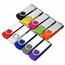 4GB-128GB USB Flash Drive Customized Logo U DISK Memory Stick With Key Ring for Promotion Gift