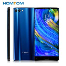 "Homtom S9 Plus 18:9 Hd + 5.99 ""Tri Bezelless Volledige Display Mobiele Telefoon MT6750T Octa Core 4G ram 64G Rom Dual Terug Cam Mobiele Telefoon"
