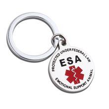 Epipen Tag, epipen Tasche Tag - Zipper Pull-Ganz Chirurgische Edelstahl Medical Alert Symbol ID Tag Keychain Charme
