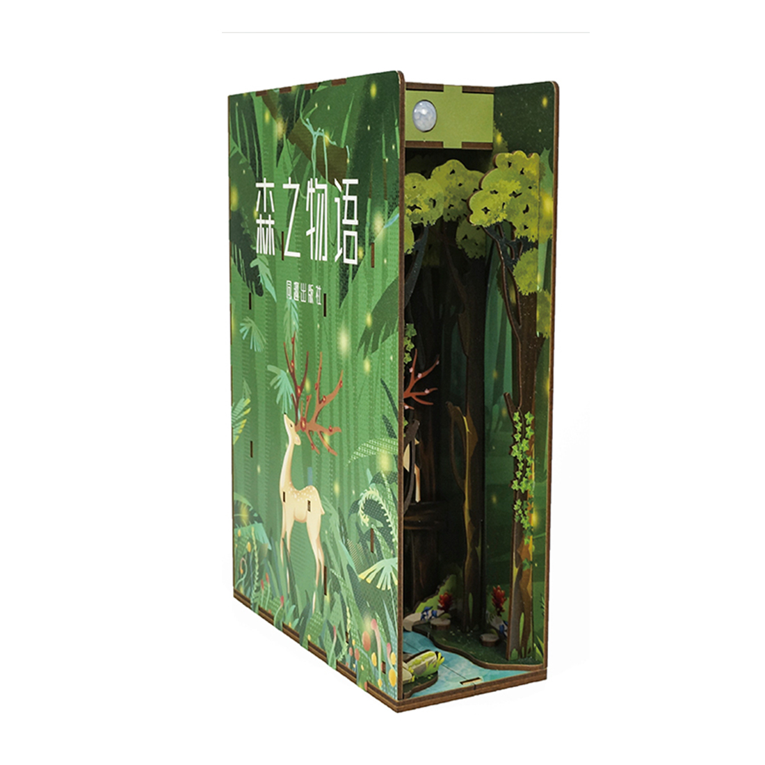 Story of Forest Miniature Book Nook * 3 Types
