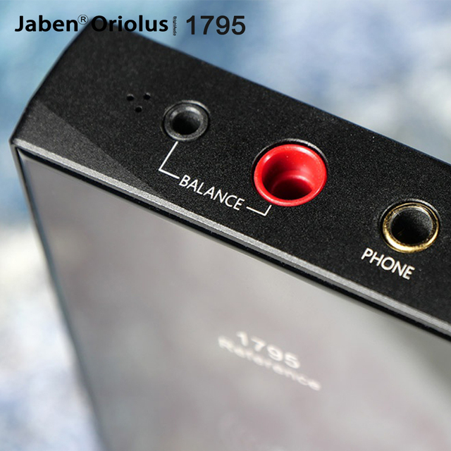 Jaben Oriolus 1795 Reference Qualcomm PCM1795 HiFi Bluetooth 5.0 Amplifier AMP DAC 3.5PRO/4.4mm Balanced Output CVC/NFC 2