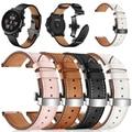 Schmetterling schnalle Leder Band für Xiaomi Huami Amazfit GTS/GTR 47mm 42mm Uhr Strap für Amazfit Bip /Stratos 3 Armband bands