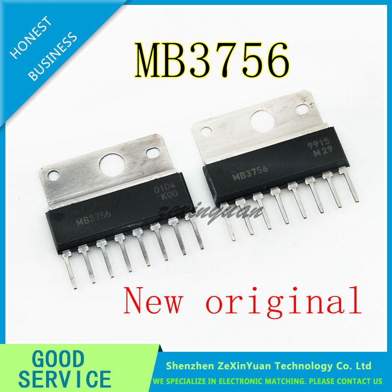 2PCS MB3756 3756 SIP-8 NEW