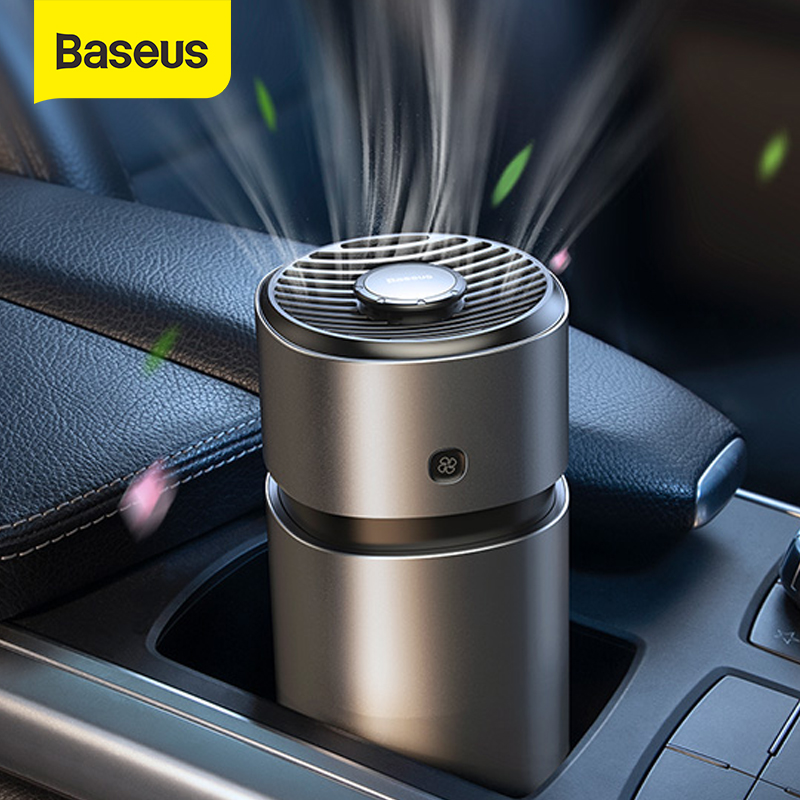 Baseus Metal Aromatherapy Air Freshener For Auto Aroma Car Perfume Refresher Car Fragrance Diffuser Freshner Cream Air Purifier