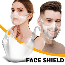 Mask Bandage Face-Shield Nose Plastic Kitchen-Tools Reusable-Cover Mouth Clear Helmet