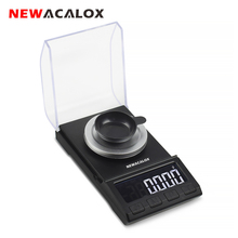 NEWACALOX 50g/100g*0.001g Mini Pocket Digital Scale for Gold Sterling Silver Jewelry Balance USB High Accuracy Electronic Scales 2015 hot sale 50g x 0 001g mini electronic digital jewelry scale balance pocket gram lcd display karat scales for jewelry tools