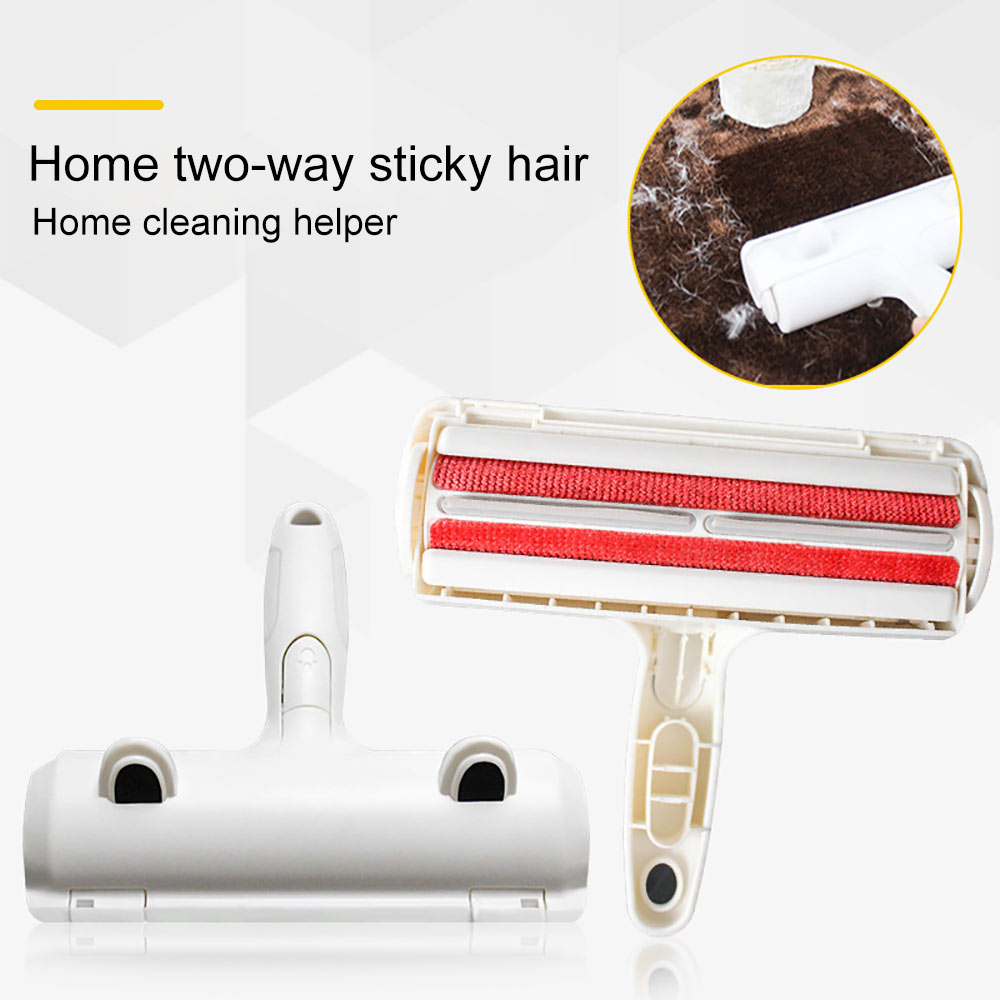 Pet Hair Remover Roller Dog Cat Hair Cleaning Brush Removing Dog Cat Hair From Furniture Carpets Clothing Self-Cleaning Lint-4