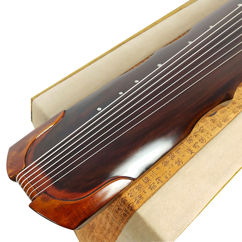 SevenAngel Chinese Fuxi Zhongni Guqin 7 strings Ancient Zither For Adult/Children Beginner Practice Guqin 100% Handmade musical-2