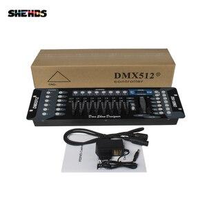 Image 5 - Nova chegada 192 controlador dmx para moving head light 192 canais para dmx512 dj equipamento controlador dsico