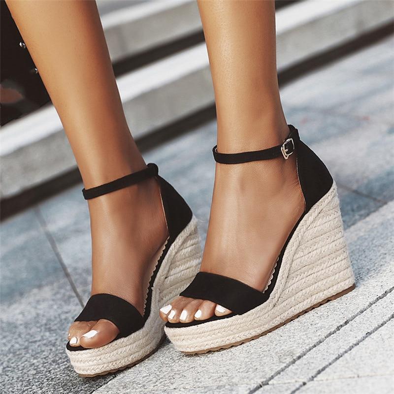 Aor Platform Sandals Wedges Shoes