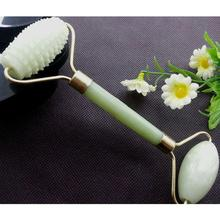 BellyLady Facial Massage Roller Double Heads Jade Stone Face Lift Body Skin Relaxation Slimming