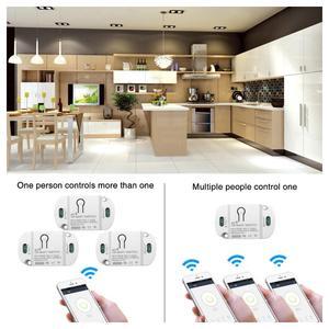 Image 3 - Smart Wifi Schakelaar Mini Diy Module Wifi Lichtschakelaar Draadloze App Afstandsbediening Schakelaar Smart Home Elektrische Schakelaars Voor Tuya