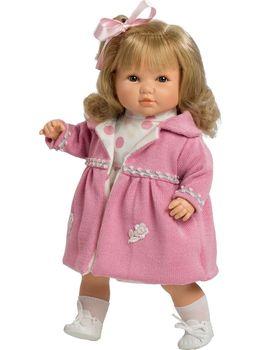 Doll Berbesa soft 42 cm SANDRA (4418)