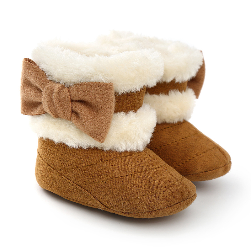 Kid Children Flower Infant Girl Snow Boots Baby Shoes Toddler Warm Winter Flower Baby Boots Little Girl Shoes Newborn Snekers