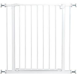 Защитные ворота для собак, комнатное ограждение для домашних животных, металлическая дверь, простая система блокировки