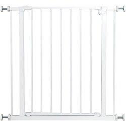 Barrière de sécurité pour chiens | Clôture d'intérieur pour animaux domestiques, porte métallique, système de verrouillage facile