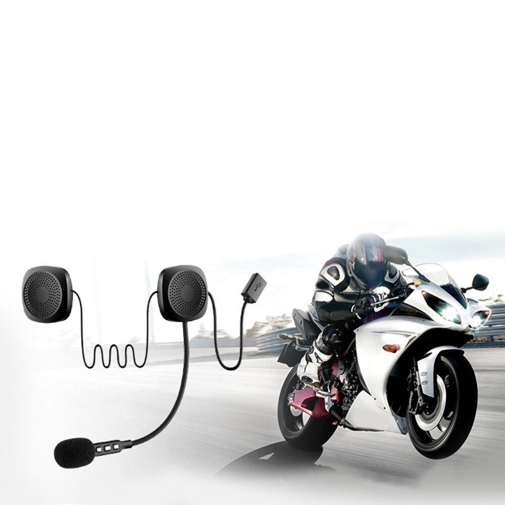 Moto Waterproof Wireless Bluetooth Headset  Anti-Interference Helmet Headset Hands Free Bluetooth V4.2 Intercom For Motorcycle