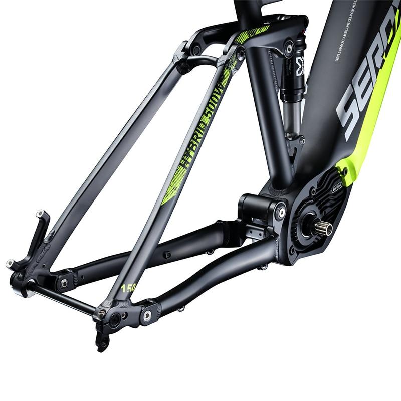 SEROXAT Mountain Bike Frame E BIKE 29ER Motor Bike Frame Aluminum alloy Suspension Frame Electric Frame for MTB AM DH - 5