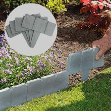 Grass-Courtyard-Decor Fence Simulation Plastic Gardening PP 1pcs Foldable