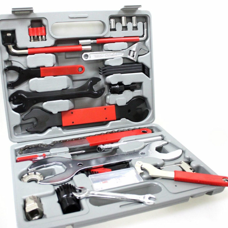 High Quality 44 In 1 Multiful Bicycle Tools Kit Portable Bike Repair Tool Box Set Hex Key Wrench Remover Crank Puller Cycling