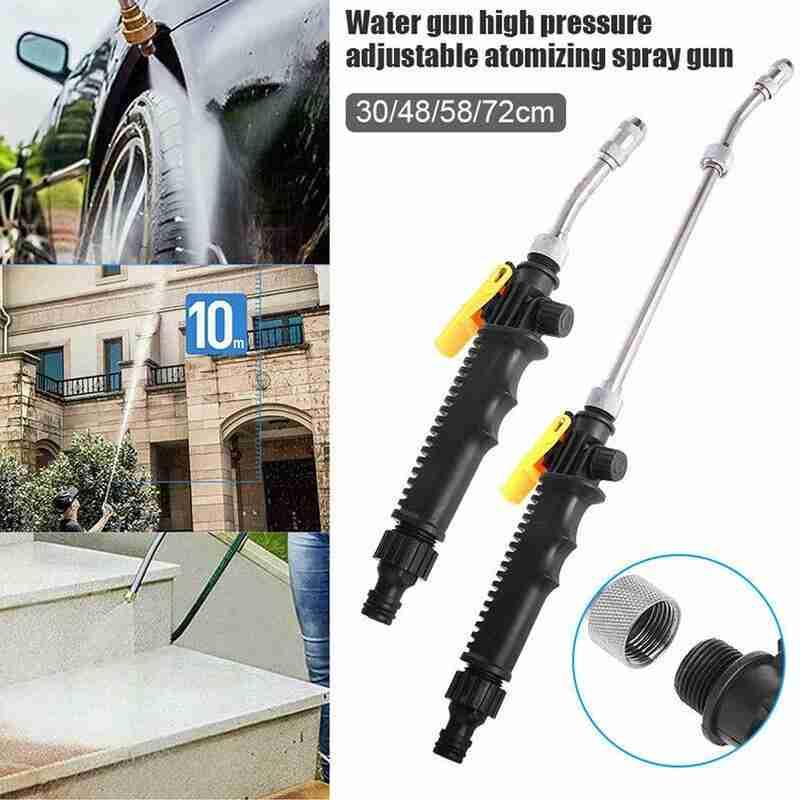 He8a6d16bf55b4f9a8593aec995128558Z - Water gun high pressure water gun car washing machine tool conditioner cleaning suction air cleaning spray spray foam smoke S6Q1