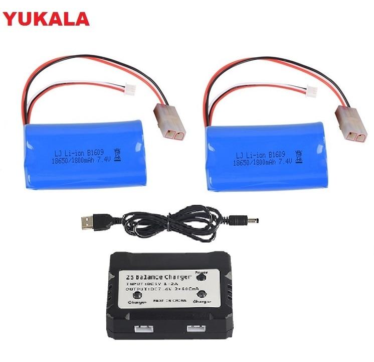 Henglong 3809, 3816, 3818, 3819, 3838, 3839, 3869, 3879, 3888, 3889, 3918, 3938 RC tanque HJ806 repuesto 7,4 V 1800Mah batería de Li-Ion 18650 2500 mAh 7,4 v batería lipo para Syma x8c X8G X8W X8G X8HC X8HW X8HG para RC Quodcopter piezas 7,4 batería de repuesto de batería v