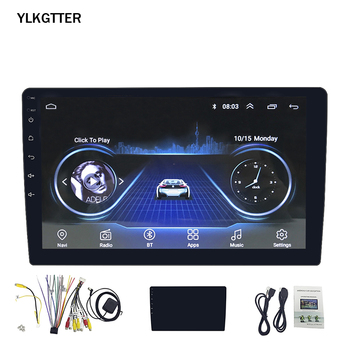 2 Dins 10.1 Inch GPS Android Smart Car Multimedia Player For Honda Toyota Touchable HD Screen Bluetooth Wifi Car Assistant image