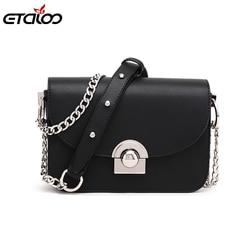 Women Handbags Famous Brand Women Messenger Bag Chains PU Leather Women Shoulder Bag Fashion Small Flap Bags
