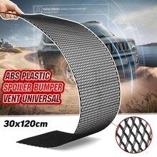 Grille-Bumper Mesh-Grill Honeycomb Universal Car-Racing-Grill Plastic 120cmx30cm Air-Vent