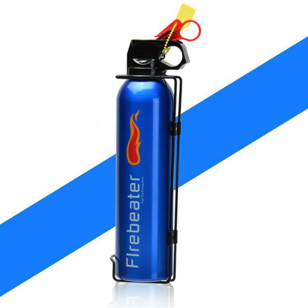 Mini Portable Car Fire Extinguisher With Hook Dry Chemical Fire Extinguisher Safety Flame Fighter Home Office Car