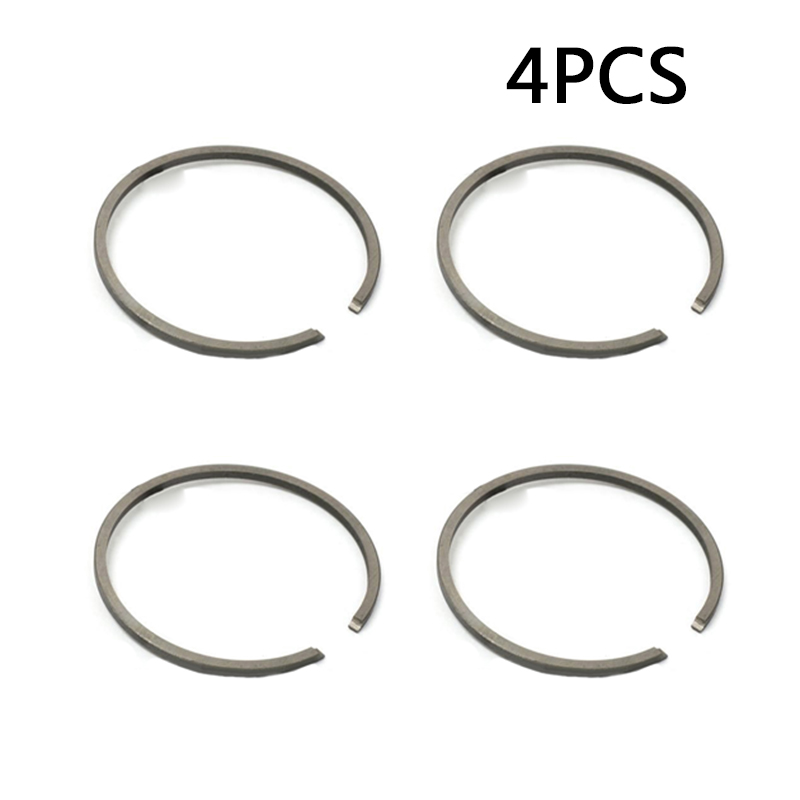 4x Piston Ring For Stihl FS45 FS75 FS80 FS85 34mm Bore Replaces #4137 034 3000