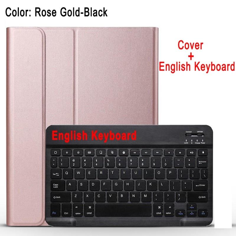 English Keyboard Black Case Keyboard For Apple iPad 10 2 2019 7 7th 8th Gen Generation A2197 A2200 A2198