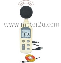 LCD Display Digital Sound Level Meter Noise Tester multifuctional sound noise level meter ar844 free shipping