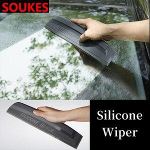 Image 2 - רכב אחורי מול שמשה קדמית לשטוף מברשת מנקה עבור פיג ו 206 307 407 308 208 3008 טויוטה קורולה יאריס Rav4 Avensis מיני קופר