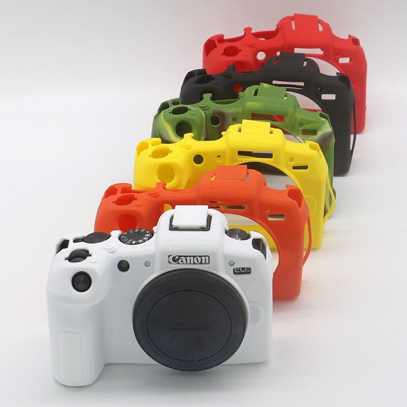 Armadura de Silicone Pele Caso Protetor de Tampa Do Corpo Para Canon EOS EOS R EOSRP EOSR RP Corpo Protetor Tampa Da Câmera de Vídeo saco