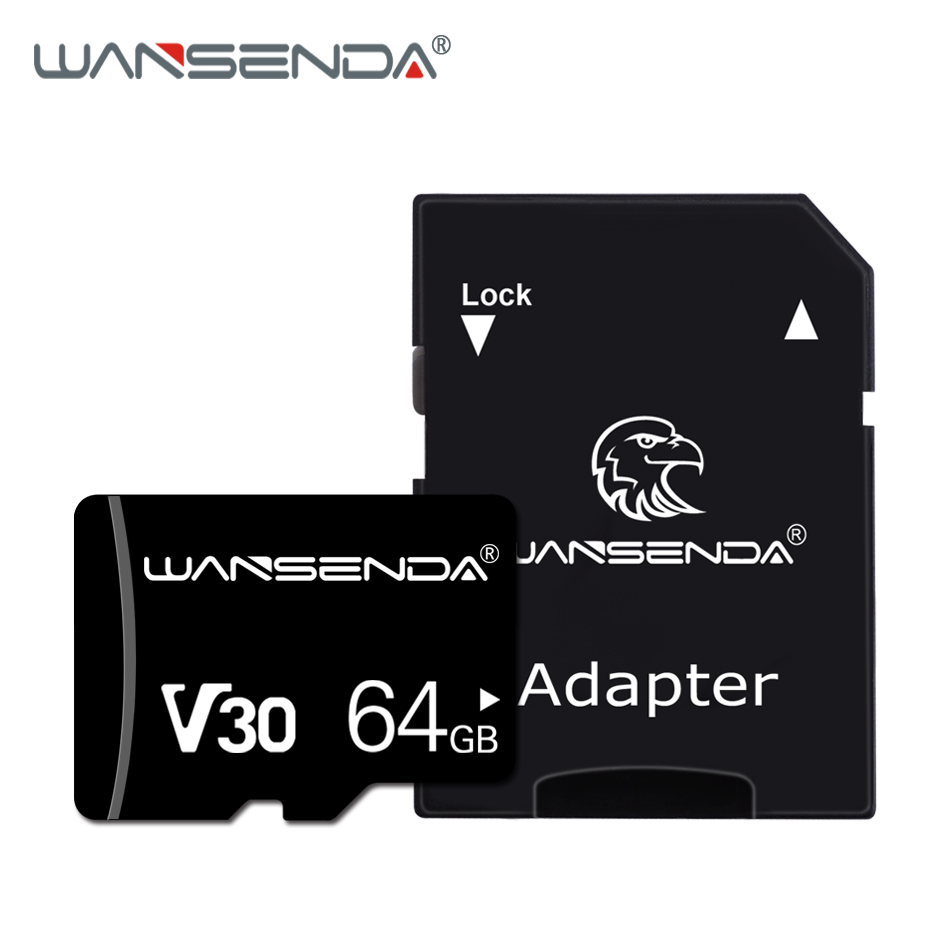 Brand New Wansenda Memory Card 256GB 128GB 64GB 32GB 16GB 8GB 4GB Micro-sd Card High Quality TF Card With Card Adapter