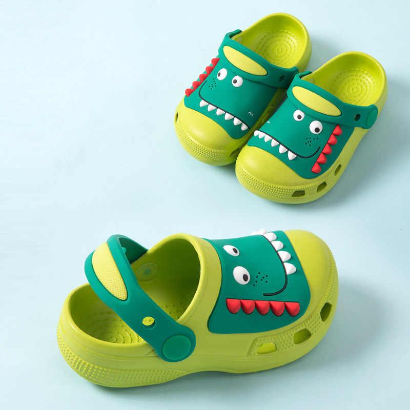 Summer Toddler Baby Boy/&Girls Cartoon Dinosaur Beach Sandals Slippers Flip Shoes