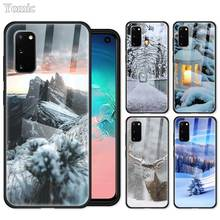 Christmas Snow Case for Samsung Galaxy S