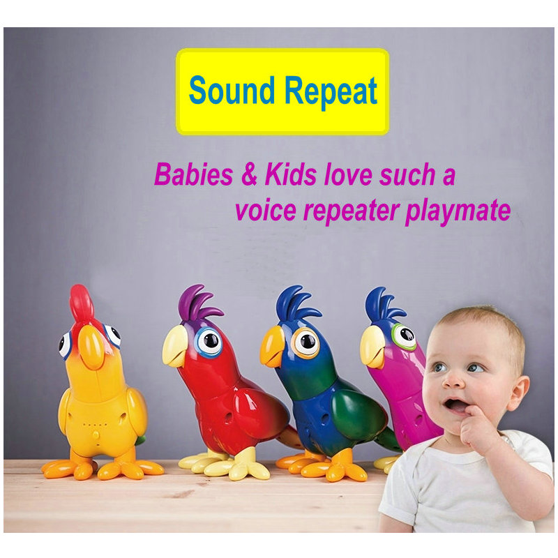 EKSLEN Parrot Robot Voice Robots for Kids Voice Command Touch Control Toys Cute Toy Smart Robotic New years Gifts 3