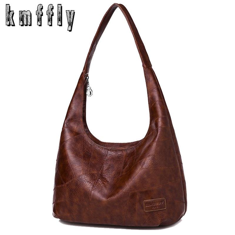 Shoulder Bags Crossbody-Bags Vintage Designer Women Soft for Sac High-Capacity