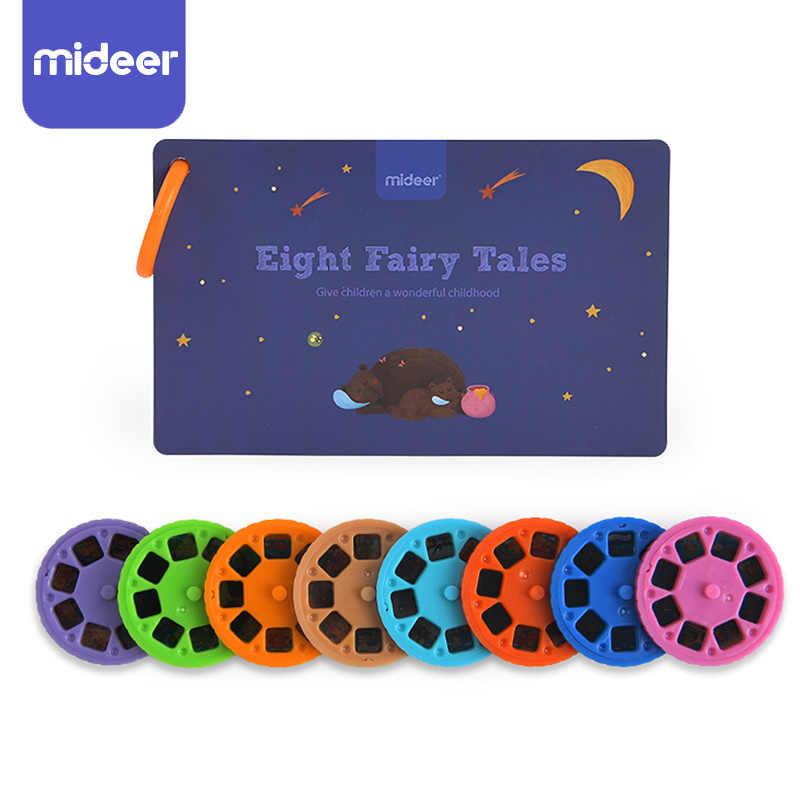 Libro di fiabe Torcia Proiettore Caleidoscopio Bambini Sky Light Up Del Bambino Giocattoli Per Bambini di Apprendimento Giocattoli Educativi Per I Bambini Fairy Tales Regalo