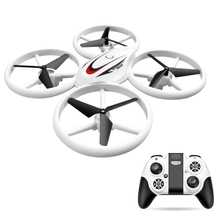 2.4GHz 4 Channel Remote Control Drone with LED Light RC Mini Quadcopter Aircraft UFO Altitude Hold Helicopter Toys