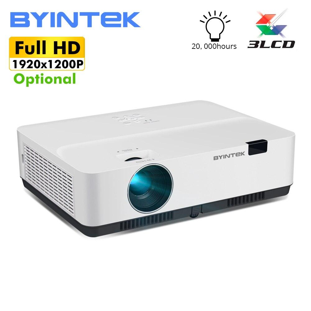 BYINTEK marque Cloud K400 300 pouces lumière du jour 3300ANSI 3LCD vidéo film 1080P FUll HD projecteur pour Home cinéma éducation affaires