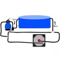 High Quality Bathroom Hardware Bathtoom Accesories VidaXL Bypass Kit for Pool Solar Heater Bypass Kits for Solar Heating System